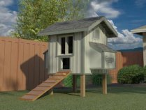 Bella Chicken Coop Plan