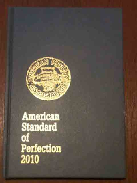 American Poultry Association Standard Of Perfection