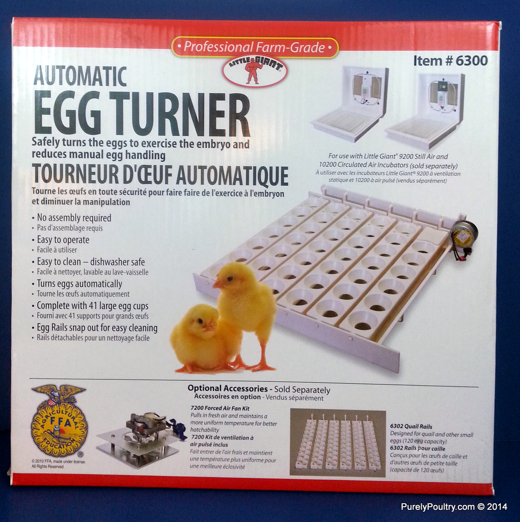 Little Giant Automatic Egg Turner