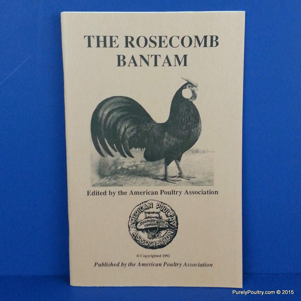 Rosecomb Bantams Book Purely Poultry